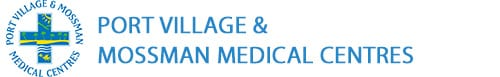 Port Medical Village and Mossman Medical Centre Retina Logo